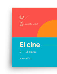 rmff riviera maya film festival graphic design poster sunset