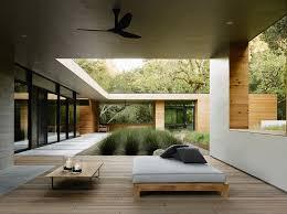 Contemporary Architecture Contemporary Architecture Among Oaks In Valley