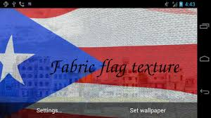 De Flag 3d Puerto Rico Flag Lwp Android Apps On Google Play