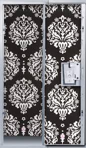 White Locker Chandelier Gorgeous Black And White Damask Wallpaper For Your Locker