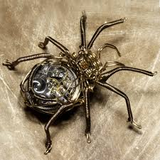 the history of steampunk steampunk style steampunk spider