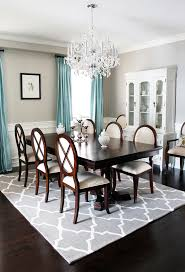 Dining Table Rug Rugs Usa Dining Room Traditional With Dark Wood Dining Table Blue