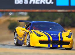 Ferrari 458 Challenge - benjamin sloss trusts aero advanced paint technology aero