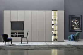 Hinged Wardrobe Doors Modular Wardrobe Contemporary Lacquered Wood With Hinged