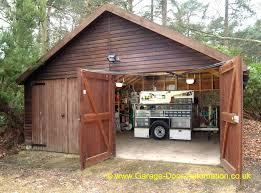 swing open garage doors g shed shed garage door opener swing open garage doors