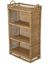 painted furniture wicker shelf in zany green furniture ideas