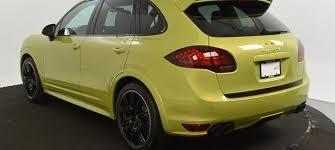 2014 porsche cayenne gts for sale 2014 porsche cayenne gts in peridot metallic cars for sale