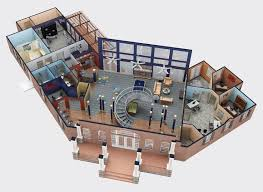 Office Floor Plan Software Gorgeous 90 3d Office Floor Plan Design Inspiration Of 3d Floor