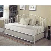 white daybed frame f9076 day bed by poundex 1 hemnes with 3