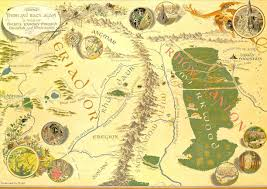 Narnia Map Detailed Map Middle Earth Hobbit From The Lonely Mountain