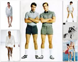 70s fashion men shorts shorts look on these guys 70s fashion men