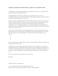 sample cover letter for teaching position at university 100