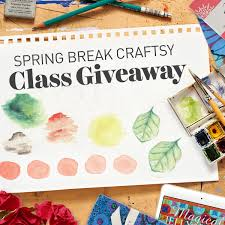 we do your online class we re giving away 5 online classes enter now craftsy