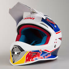 kini motocross gear kini red bull competition motocross helmet marina blue u0026 white