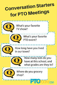 pta treasurer report template 62 best meeting ideas images on pinterest pto today pta meeting get our free conversation starter printables put them on tables at meetings to help folks