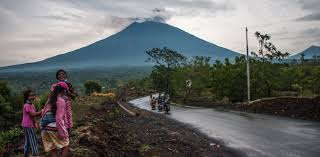 earthquake bali 2017 agung using volcano forensics to map the past and predict the