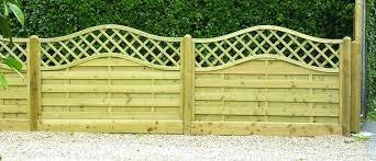 Simple Garden Fence Ideas Garden Fence Ideas Front Garden Fence Panels Garden Fence