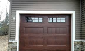 american door works recessed carriage panel doors