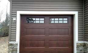 american door works recessed carriage panel doors