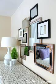 home interior mirror how to create a 3 d mirror gallery wall in my own style mirrored