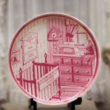 baby birth plates personalized birth plate corner stork baby gifts