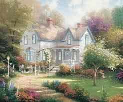 Thomas Kinkade Home Interiors Home Is Where The Heart Is The Thomas Kinkade Company