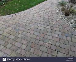Drainage Patio Rustic Red Brick Patio Block Paving In Uk Garden With Porous