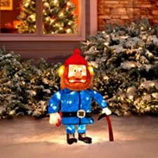 Outdoor Reindeer Christmas Decorations by Amazon Com Christmas 32 In Yukon Cornelius Rudolph The Red