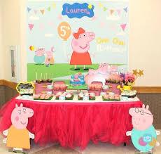 peppa pig party supplies peppa pig party decorations birthday ideas splendid pics