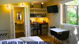 tiny urban cottage in atlanta you can rent this tiny house youtube