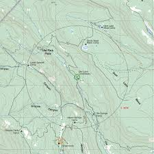 Philmont Scout Ranch Map Ute Gulch Commissary