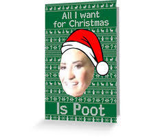 Green Card Meme - poot lovato christmas meme greeting cards by luckythelab redbubble