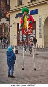 clown stilts clown stilts stock photos clown stilts stock images alamy