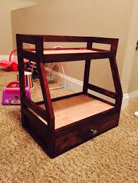 18 Inch Doll Bunk Bed American Doll Bunk Bed With Trundle Custom Home Made Diy