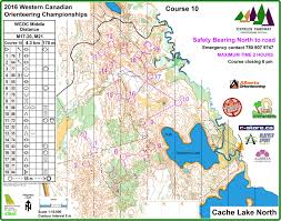 Coc Maps Results 2016 Canadian Championships