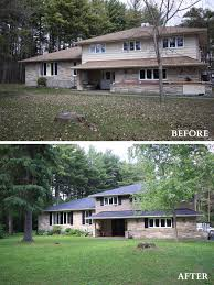 Exterior Mobile Home Makeover by Home Exterior Makeovers Jumply Co
