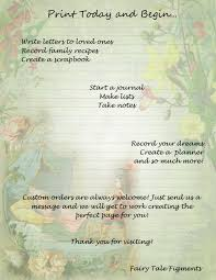 fairy writing paper sleeping beauty fairy tale stationery brothers grimm fairy tale this is a digital file