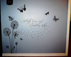 butterfly kisses and dandelion wishes vinyl projects for