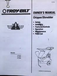 troy bilt manual models 47329 47330 on popscreen