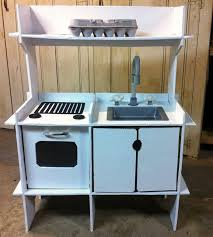 Play Kitchen Sink by Diy Cardboard Play Kitchen Craft Projects For Every Fan