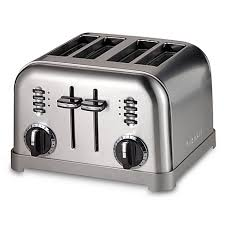 Nfl Toaster Cuisinart Metal Classic 4 Slice Toaster Bed Bath U0026 Beyond