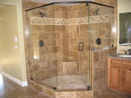 Walk In Bathroom Ideas by Bathroom Beautiful Double Head Shower On Brown Marble Walk In