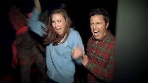 ellen halloween horror nights andy and jacqueline u0027s haunted house visit