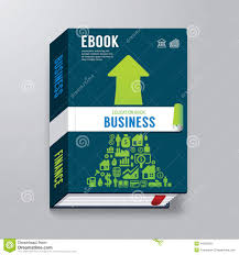 free book cover designs templates book cover business design template e book stock vector image