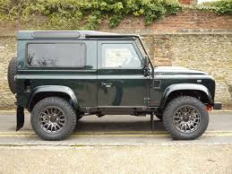 green station wagon land rover defender bowler 90 xs station wagon bowler fast road