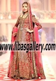 wedding dress qatar collections of designer sana safinaz at bridal couture week 2015
