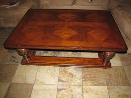 coffee table fabulous large glass coffee table leather ottoman