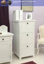 baumhaus hampton filing cabinet three drawer amazon co uk