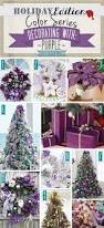 holiday color series decorating with purple purple holiday home