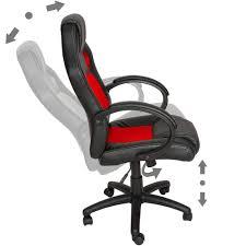 chaise de bureau racing chaise fauteuil siège de bureau racing sport tissu baquet voiture